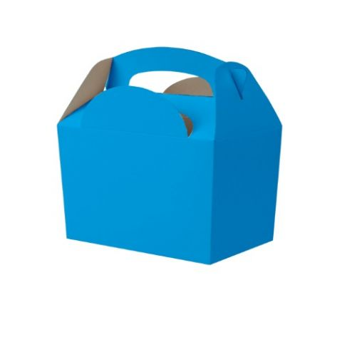 Bright Blue Meal Party Box
